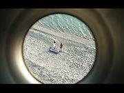 Coppia amatoriale fa sesso in spiaggia